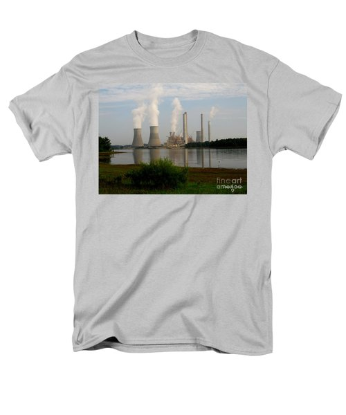 Georgia Power Plant Men's T-Shirt  (Regular Fit) by Donna Brown
