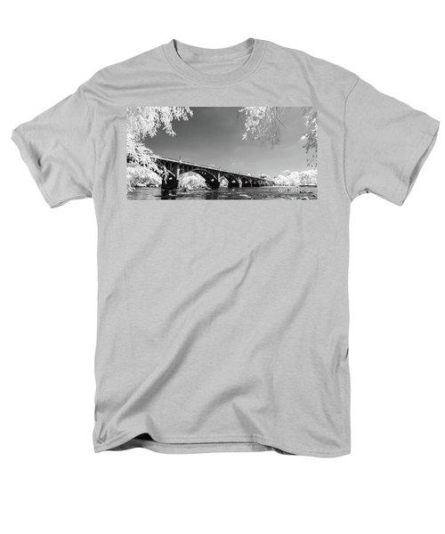 Gervais Street Bridge In Ir1 Men's T-Shirt  (Regular Fit) by Charles Hite