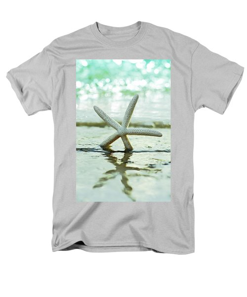 Men's T-Shirt  (Regular Fit) featuring the photograph Get Your Feet Wet by Laura Fasulo