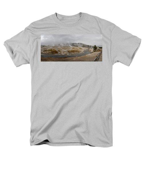 Geyser Hill  Men's T-Shirt  (Regular Fit) by Shirley Mitchell