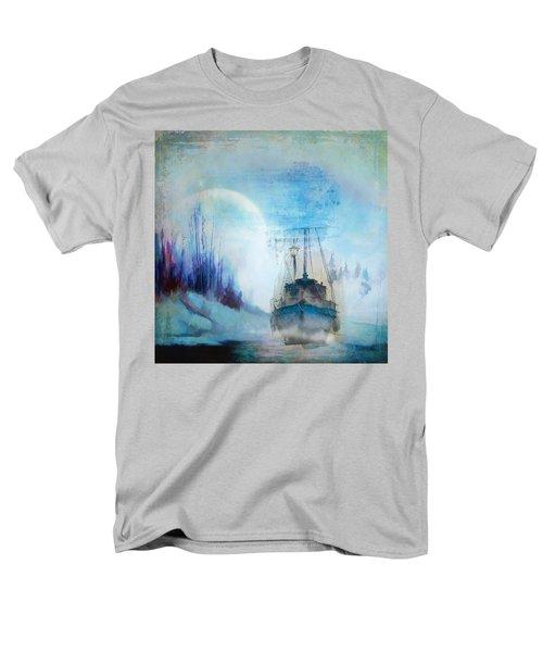 Ghost Ship Men's T-Shirt  (Regular Fit) by Diana Boyd