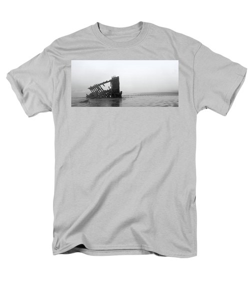 Ghost Ship Men's T-Shirt  (Regular Fit) by Joseph Skompski