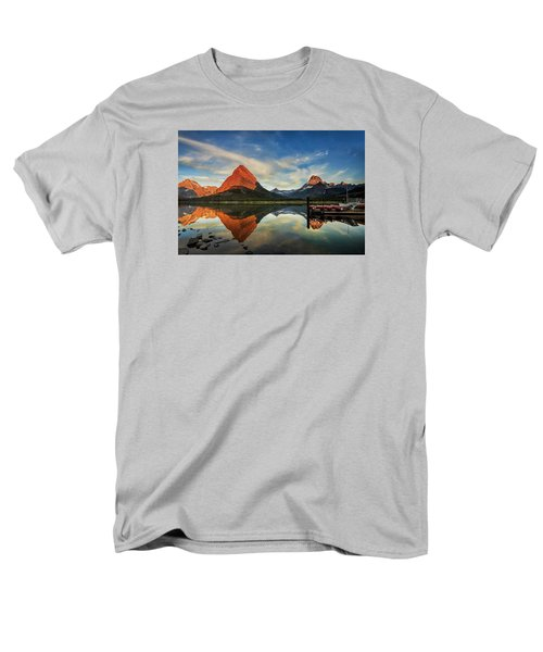Glacier Morning Men's T-Shirt  (Regular Fit) by Andrew Soundarajan