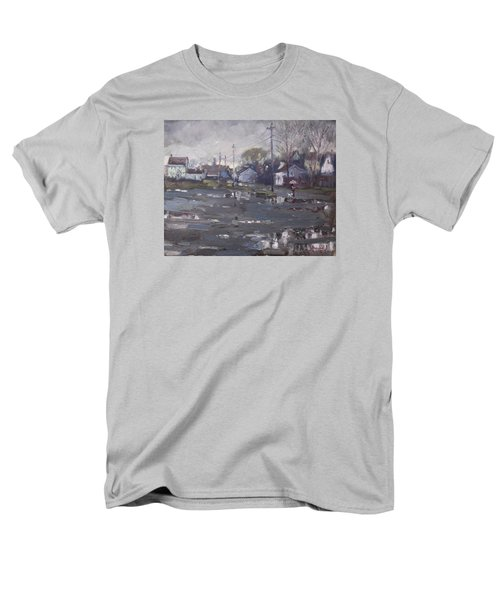Gloomy And Rainy Day By Hyde Park Men's T-Shirt  (Regular Fit) by Ylli Haruni