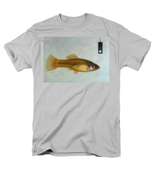 Go Fish Men's T-Shirt  (Regular Fit) by James W Johnson