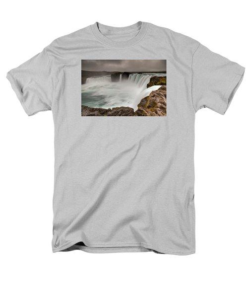 Godafoss Men's T-Shirt  (Regular Fit) by Brad Grove
