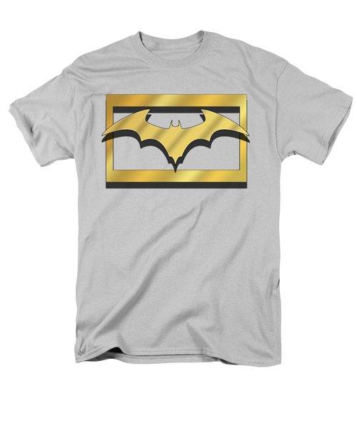 Men's T-Shirt  (Regular Fit) featuring the digital art Golden Bat by Chuck Staley