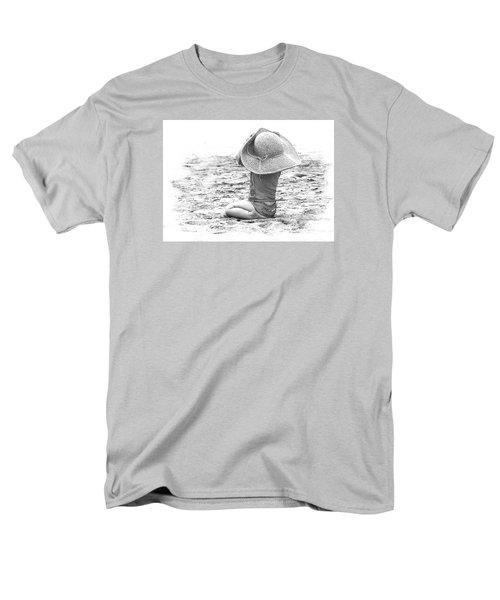 Grandma's Hat Men's T-Shirt  (Regular Fit) by Kerri Ligatich