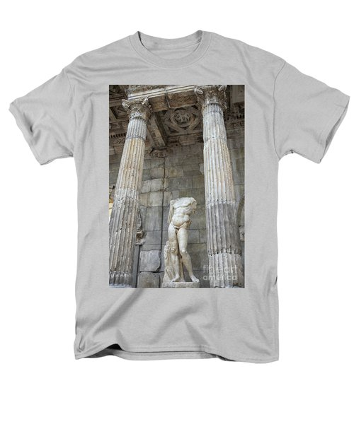 Men's T-Shirt  (Regular Fit) featuring the photograph Greek Statue by Patricia Hofmeester