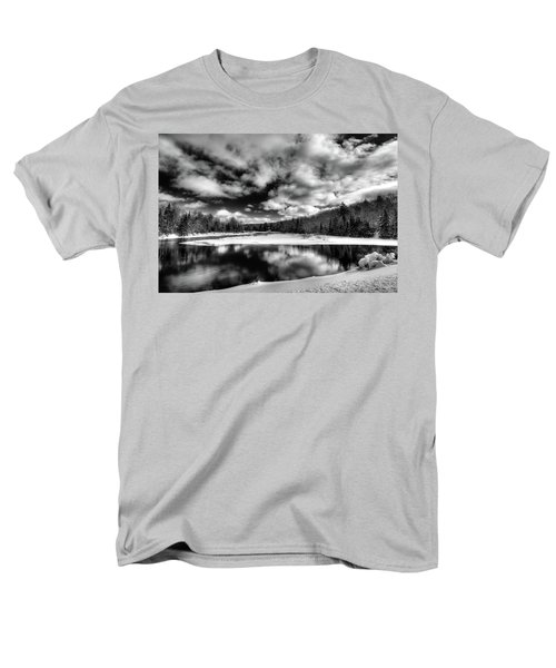 Men's T-Shirt  (Regular Fit) featuring the photograph Green Bridge Solitude by David Patterson