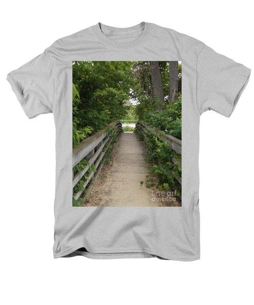 Greenery Bridge Men's T-Shirt  (Regular Fit) by Erick Schmidt