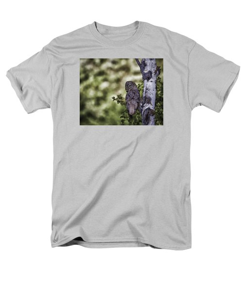Grey Ghost Men's T-Shirt  (Regular Fit) by Elizabeth Eldridge