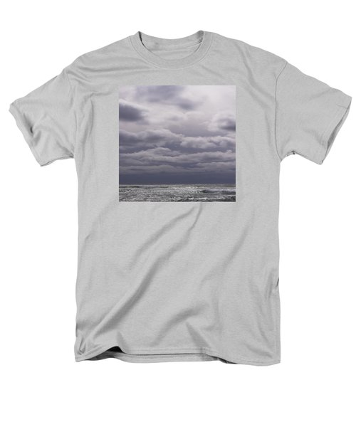 Men's T-Shirt  (Regular Fit) featuring the photograph Grey Horizon by Adria Trail