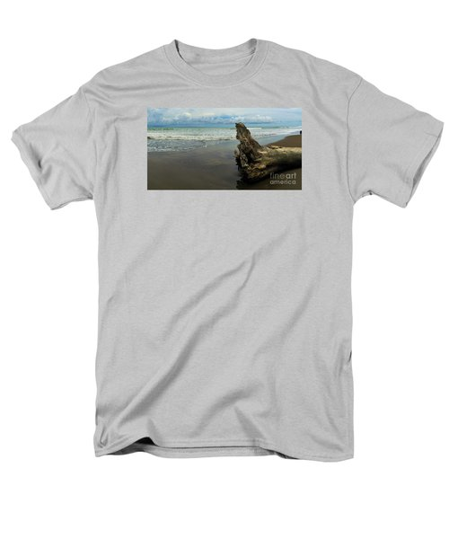 Men's T-Shirt  (Regular Fit) featuring the photograph Guarding The Shore by Pamela Blizzard