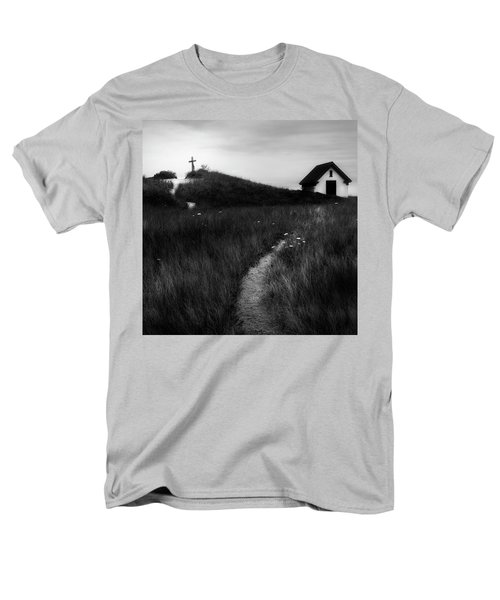 Men's T-Shirt  (Regular Fit) featuring the photograph Guiding Light Square by Bill Wakeley