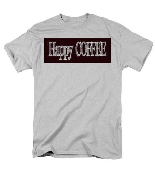 Happy Coffee Mug 2 Men's T-Shirt  (Regular Fit) by Robert J Sadler