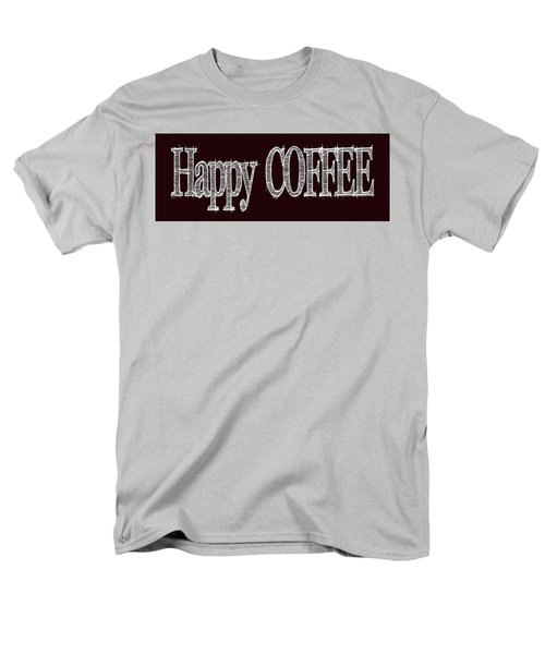 Happy Coffee Mug 2 Men's T-Shirt  (Regular Fit)