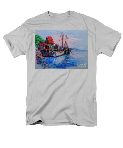 Harbour Men's T-Shirt  (Regular Fit) by Viktor Lazarev
