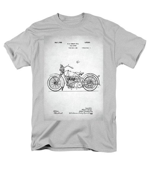 Men's T-Shirt  (Regular Fit) featuring the digital art Harley Davidson Patent by Taylan Apukovska