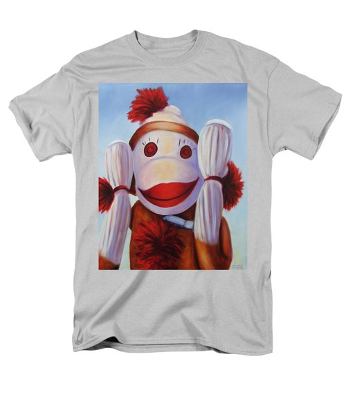 Hear No Bad Stuff  Men's T-Shirt  (Regular Fit)