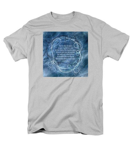 Men's T-Shirt  (Regular Fit) featuring the digital art Heavens Dance by Angelina Vick