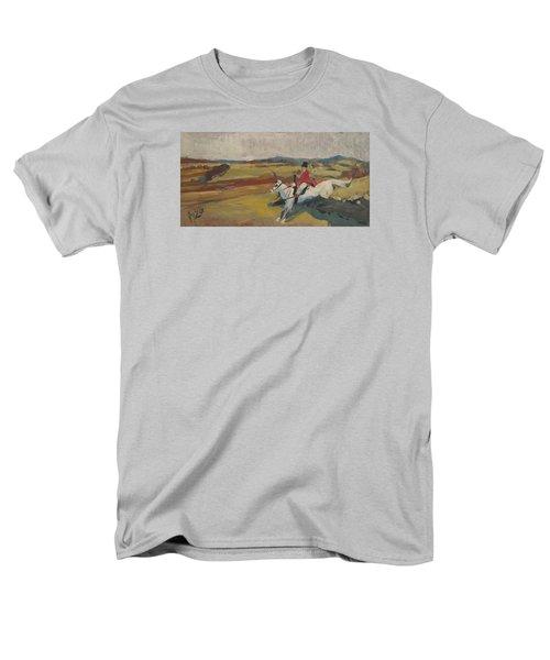 Hedge Hopping Britain Men's T-Shirt  (Regular Fit) by Nop Briex