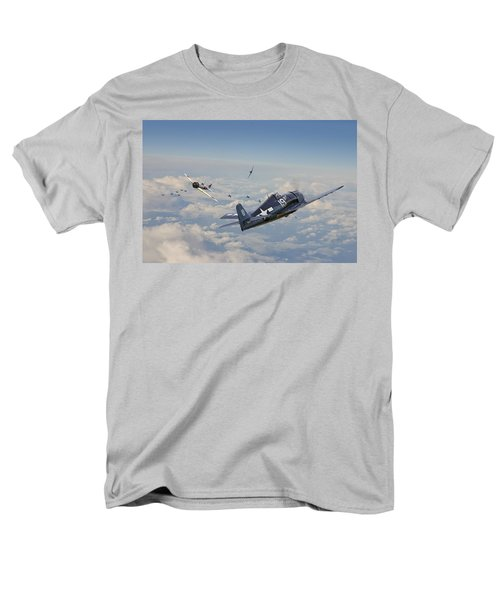 Hellcat F6f - Duel In The Sun Men's T-Shirt  (Regular Fit) by Pat Speirs