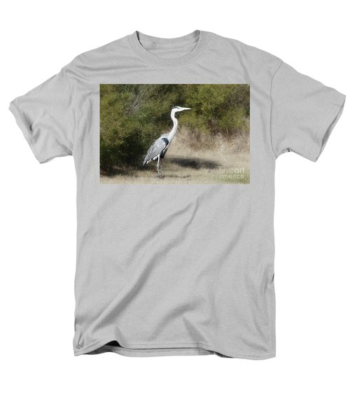 Men's T-Shirt  (Regular Fit) featuring the photograph Henry The Heron by Benanne Stiens