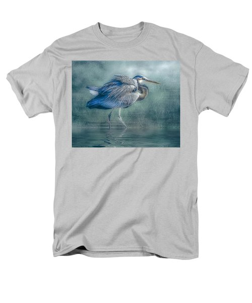 Heron's Pool Men's T-Shirt  (Regular Fit) by Brian Tarr