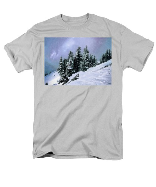 Men's T-Shirt  (Regular Fit) featuring the photograph Hidden Peak by Jim Hill