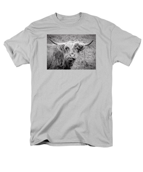 Highland Cow Men's T-Shirt  (Regular Fit) by Jeremy Lavender Photography