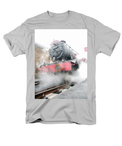 Men's T-Shirt  (Regular Fit) featuring the photograph Hogwarts Express Train by Juergen Weiss