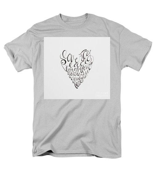 Hold Onto Men's T-Shirt  (Regular Fit) by Elizabeth Robinette Tyndall