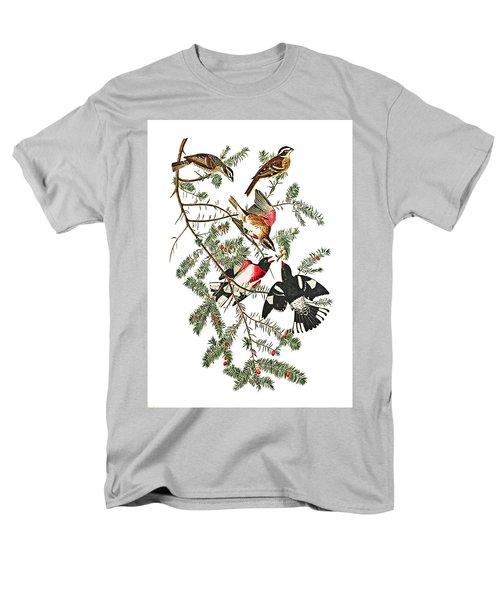 Men's T-Shirt  (Regular Fit) featuring the photograph Holiday Birds by Munir Alawi