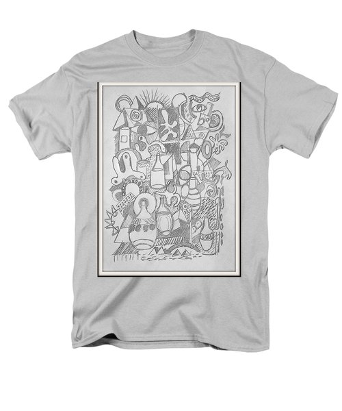 Holiday Thoughts Men's T-Shirt  (Regular Fit) by Rosemary Colyer