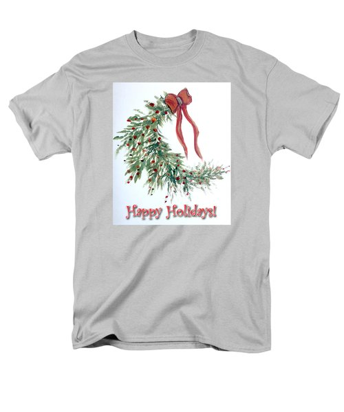 Holidays Card - 4 Men's T-Shirt  (Regular Fit) by Dorothy Maier