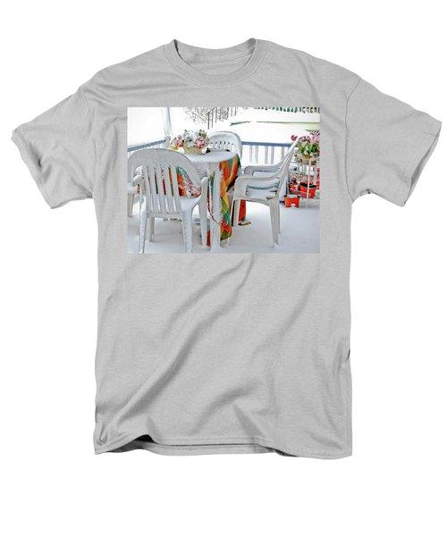Home Sweet Frozen Home Men's T-Shirt  (Regular Fit) by Carol F Austin