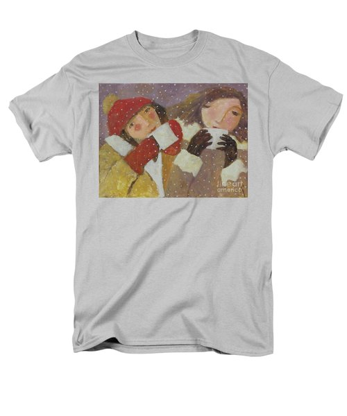 Men's T-Shirt  (Regular Fit) featuring the painting Hot Chocolate by Glenn Quist