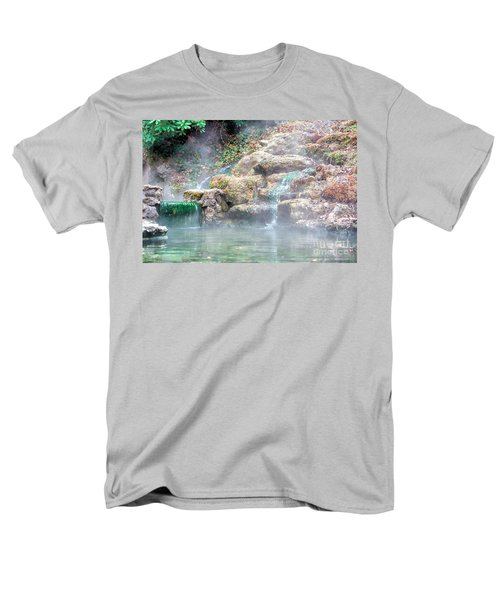 Men's T-Shirt  (Regular Fit) featuring the photograph Hot Springs In Hot Springs Ar by Diana Mary Sharpton