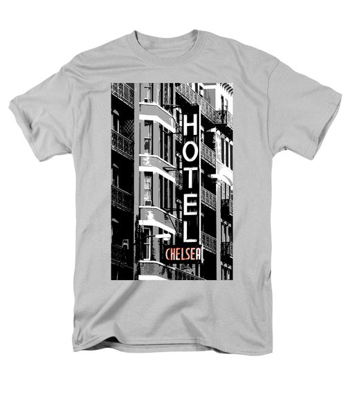 Men's T-Shirt  (Regular Fit) featuring the photograph Hotel Chelsea by Christopher Woods