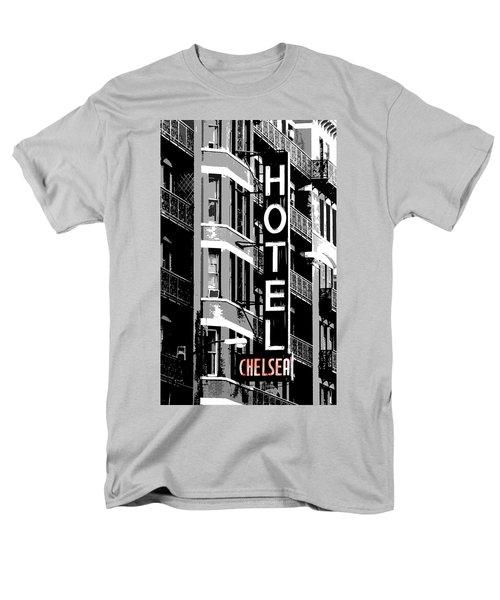 Hotel Chelsea Men's T-Shirt  (Regular Fit) by Christopher Woods