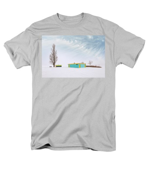 Men's T-Shirt  (Regular Fit) featuring the photograph How To Wear Bright Colors In The Winter by John Poon