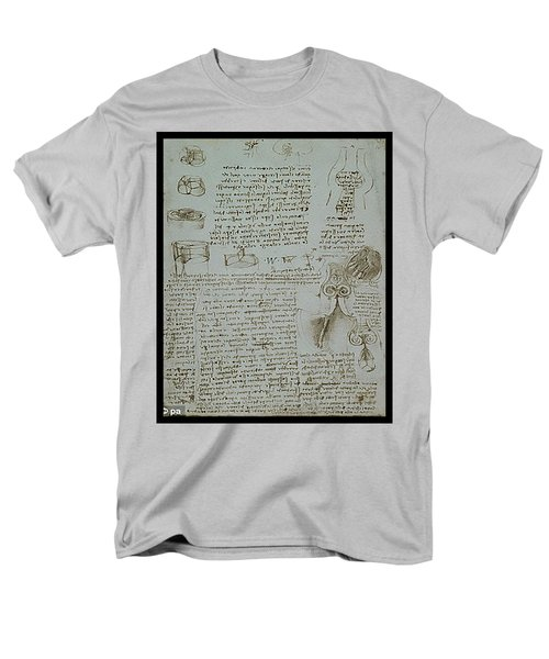 Human Study Notes Men's T-Shirt  (Regular Fit) by James Christopher Hill