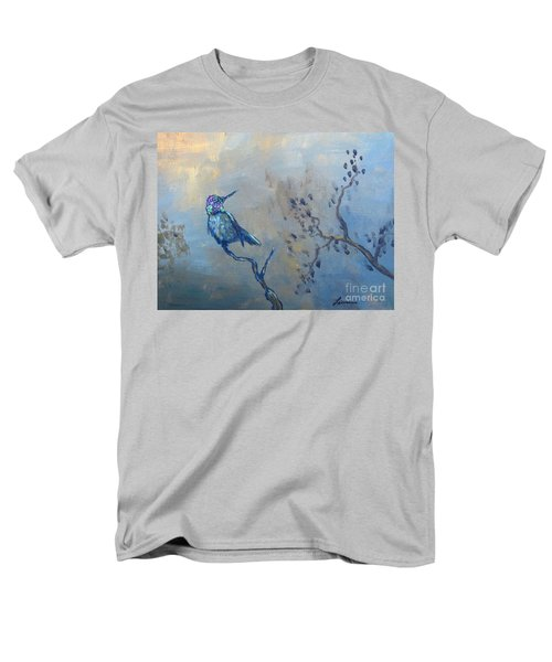 Men's T-Shirt  (Regular Fit) featuring the painting Humming Bird by Laurianna Taylor
