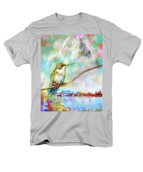 Hummingbird By The Chattanooga Riverfront Men's T-Shirt  (Regular Fit) by Steven Llorca
