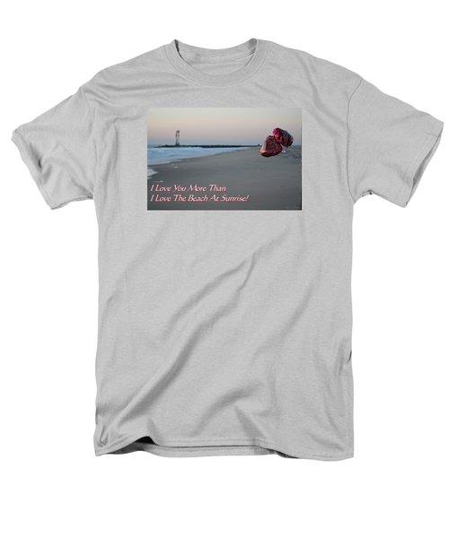 I Love You More Than... Men's T-Shirt  (Regular Fit)