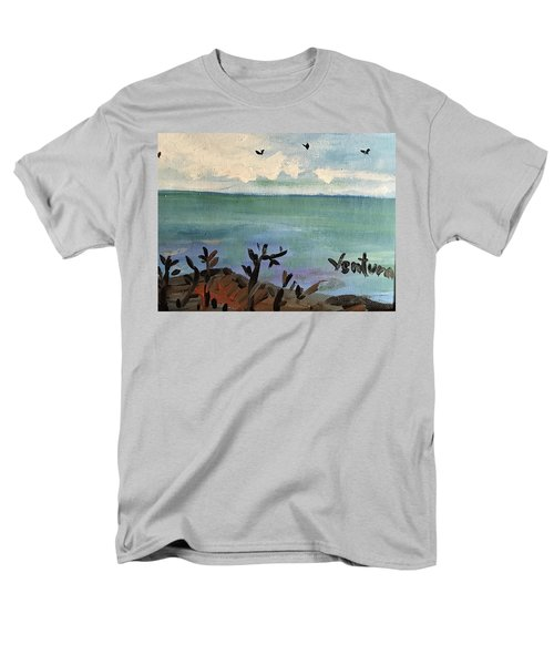 I Stood There And Watched It All Men's T-Shirt  (Regular Fit)