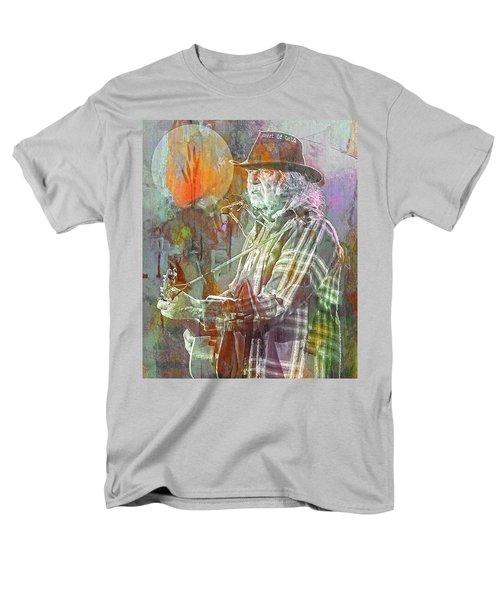 I Wanna Live, I Wanna Give Men's T-Shirt  (Regular Fit) by Mal Bray