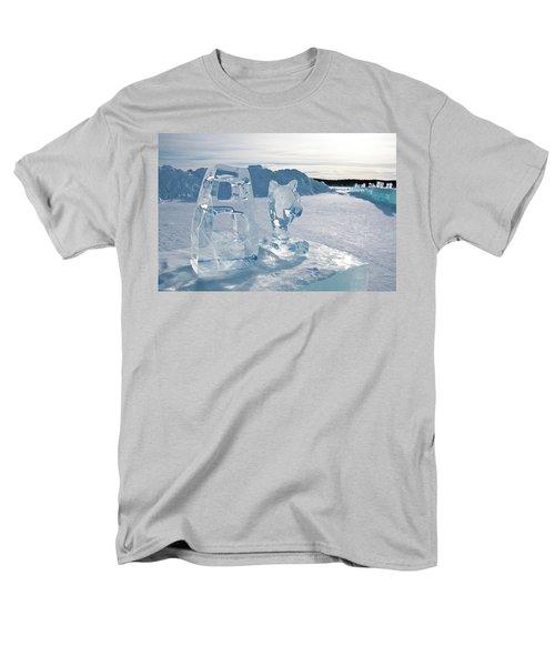 Ice Sculpture Men's T-Shirt  (Regular Fit) by Tamara Sushko