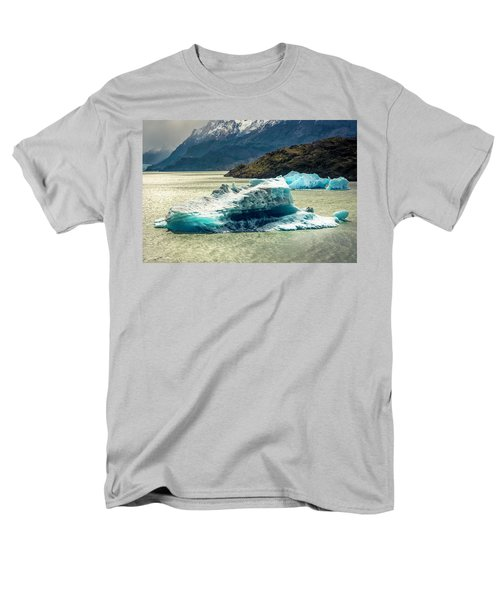 Men's T-Shirt  (Regular Fit) featuring the photograph Iceberg by Andrew Matwijec